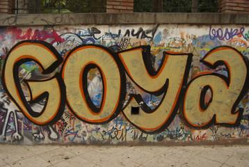 Goya graffiti