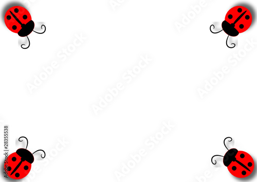 Cornice Di Coccinelle Stock Image And Royalty Free Vector Files On