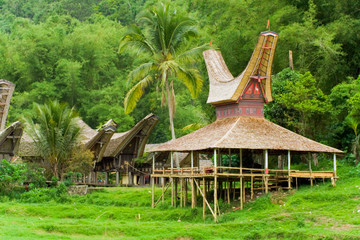 Boat House Tana Toraja Village Close