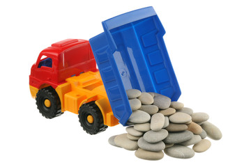 Stones in the truck