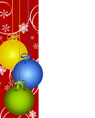background for Christmas (New Year) card .