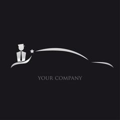 logo entreprise, taxi