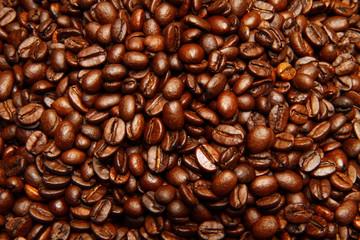 Zelfklevend Fotobehang Koffiebonen caffè