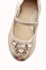 Rhinestone Shoe For Little Girl