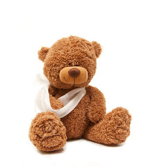 Teddy in sick