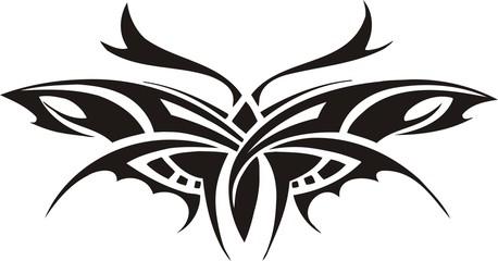 Tribal Butterflies.