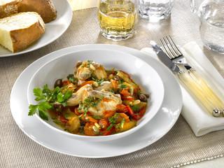 ragoût de cailles - quail stew - quaglie in umido