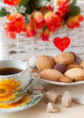tea and cookies with love