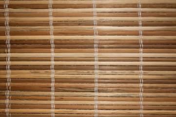 Holzmatte horizontal