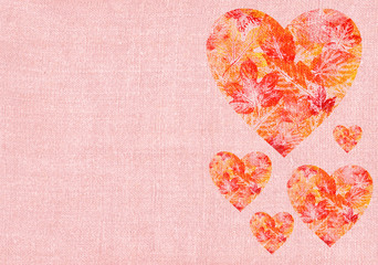 Heart with leaves on a canvas(19).jpg