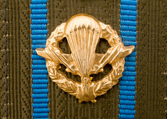 Emblem of the airborne troops of Russia