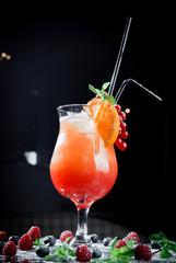 orange-red cactail