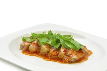 Mexican cuisine - Chicken fajita