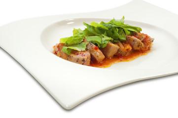 Chicken Fajitas Plate