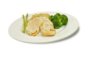 Boneless grilled chicken