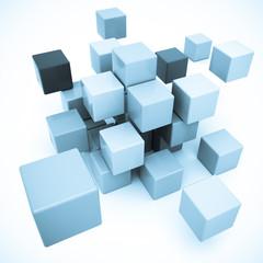 Blocks in blue