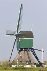 windmill near Vlist, Netherlands
