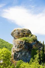 landscape near Alba-la-Romaine, Rhone-Alpes, France