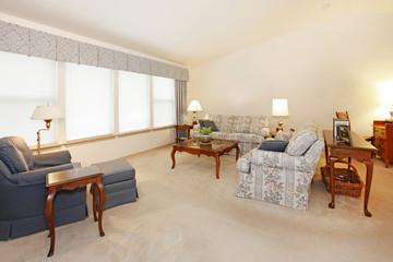 Living room in grandma house