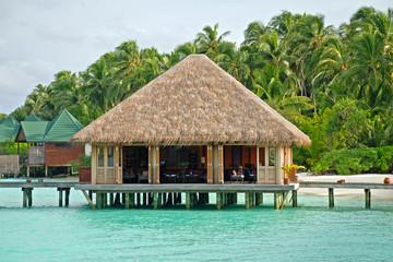 Spa hut