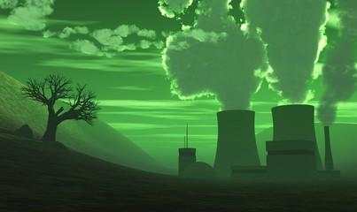 3D Kernkraftwerk - Der Super-Gau grün 02