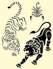 animali tribali maori