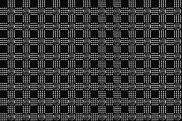 Printed roller blinds Pattern Свет и стекло, композиция
