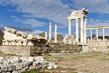 Temple of Trajan, Pergamon, Turkey