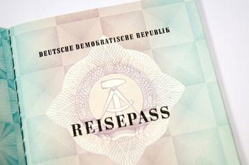 Reisepass DDR