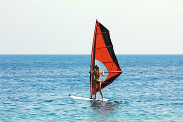 windsurf - surfer girl