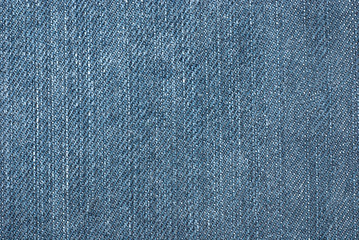 Blue denim jean