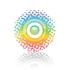 Sign Rainbow Sun