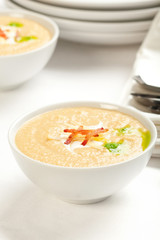Celery Root and apple soup