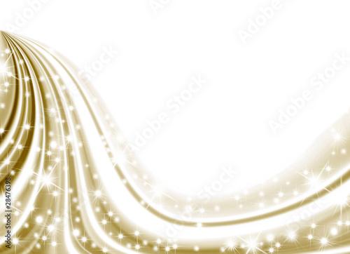 """fondo Blanco Oro Estrellas Navideño"" Stock Photo And"