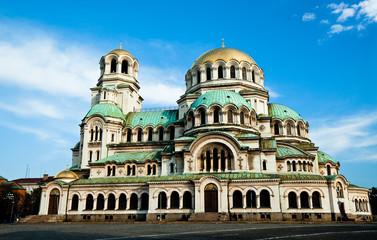 Fotobehang Monument Alexandre Nevski Cathedral