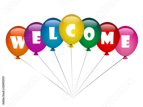 quot  quot welcome quot   rainbow balloons home smile greetings party free smiley clip art black and white free smiley clip art faces