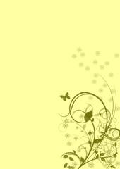 Floral background,vector image