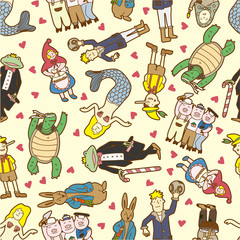 seamless story pattern