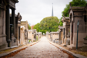 Stores photo Cimetiere Pere-lachaise cemetery, Paris, France