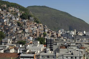 Brésil Rio de la favela à la ville