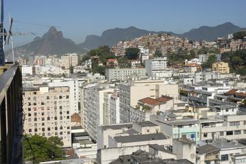 Brésil Rio ville et favela