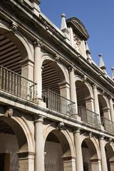 Detail of historic university - Alcalà de Henares