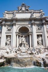 Fototapete - Roma-Fontana di Trevi