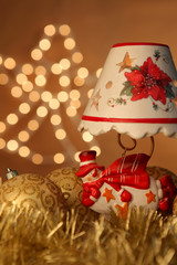 Christmas Snowman Lamp