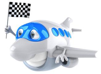 Photo sur Aluminium Dauphins Avion