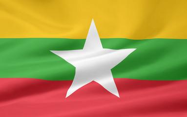 Flagge von Myamar