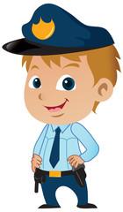 Cute Little Policeman