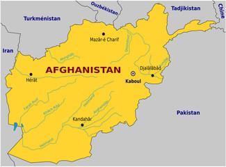 Rivière - Afghanistan