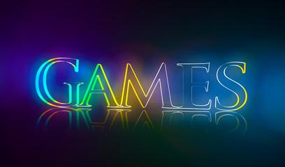 3D Typografie Games