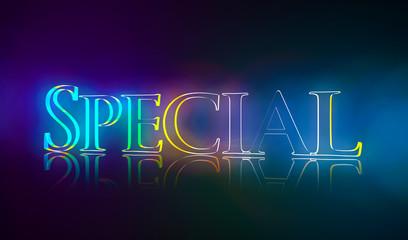 3D Typografie Special